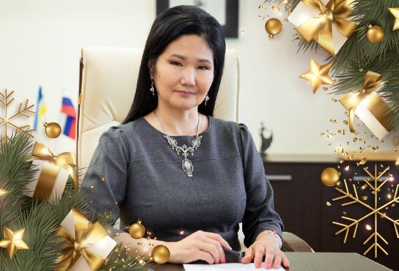 Поздравление министра культуры Бурятии Соелмы Дагаевой с Новым годом