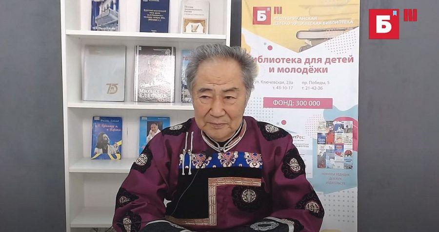Народный артист Российской Федерации Михаил Елбонов участвует в новом проекте Детско-юношеской библиотеки